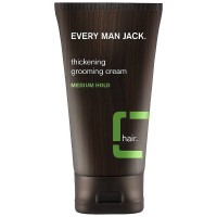 Every Man Jack Thickening Grooming Cream, Medium Hold 5 oz [878639001145]