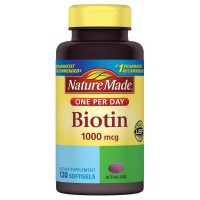 Nature Made Biotin 1000 mcg Softgels 120 ea [031604042738]