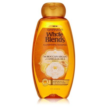 Garnier Whole Blends Shampoo with Moroccan Argan & Camellia Oils Extracts 22 oz [603084459346]