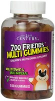 21st Century Zoo Friends Multi Gummies, Fruit 150 ea [740985276204]