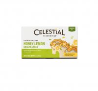 Celestial Seasonings Tea Honey Lemon Ginseng Green Tea 20 ea [070734070372]
