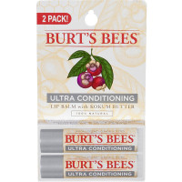 Burt's Bees Ultra Conditioning Lip Balm, Kokum Butter 2 ea [792850012240]