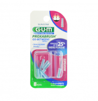GUM Go-Betweens Proxabrush Refills Moderate [612] 8 Each [070942066129]