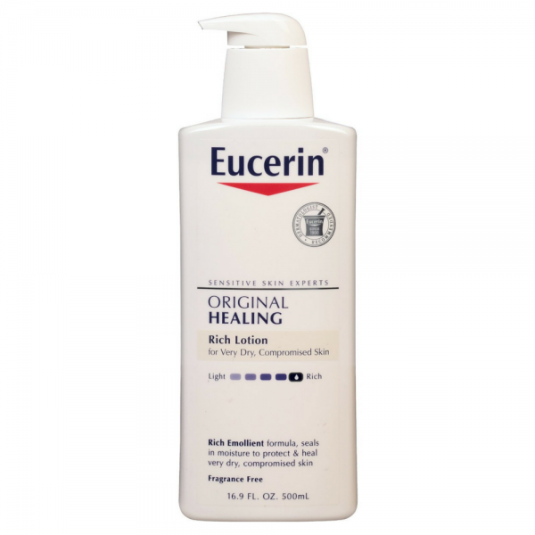 Eucerin Original Healing Lotion 16 90 Oz Pharmapacks