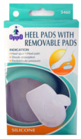 Oppo Silicone Gel Heel Pads with Removable Pads, Large [5460] 1 Pair [4711769145784]