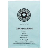 For Five Grand Ave Roast Ground 12 oz [853473008185]