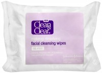 CLEAN & CLEAR Makeup Dissolving Facial Cleansing Wipes 25 Each [381371015030]