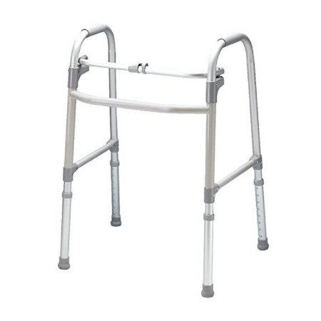 Carex Health Brands Single-Button Walker 1 ea [023601085702]