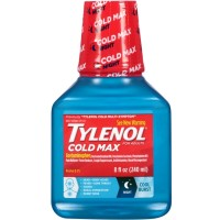 TYLENOL Cold Max Nighttime Cool Burst Liquid 8 oz [300450269089]