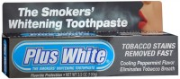Plus White Smokers' Whitening Toothpaste 3.50 oz [018515272362]