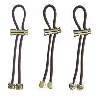 Pullleez Gift Set of 3 -Knot/nugget/Heart Metal Charm  1 ea [853183006501]
