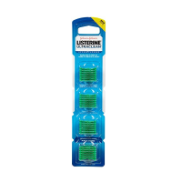 Listerine Ultraclean Access Flossers Disposable Heads Fresh Mint Crystals 28 Each [012547440195]