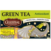 Celestial Seasonings Antioxidant Green Tea Bags 20 ea [070734070365]