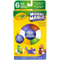 Crayola Model Magic Secondary Colors 6 ea [071662024048]