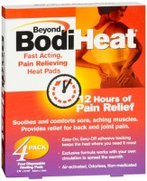 Beyond BodiHeat Pads 4 Each [028373749845]