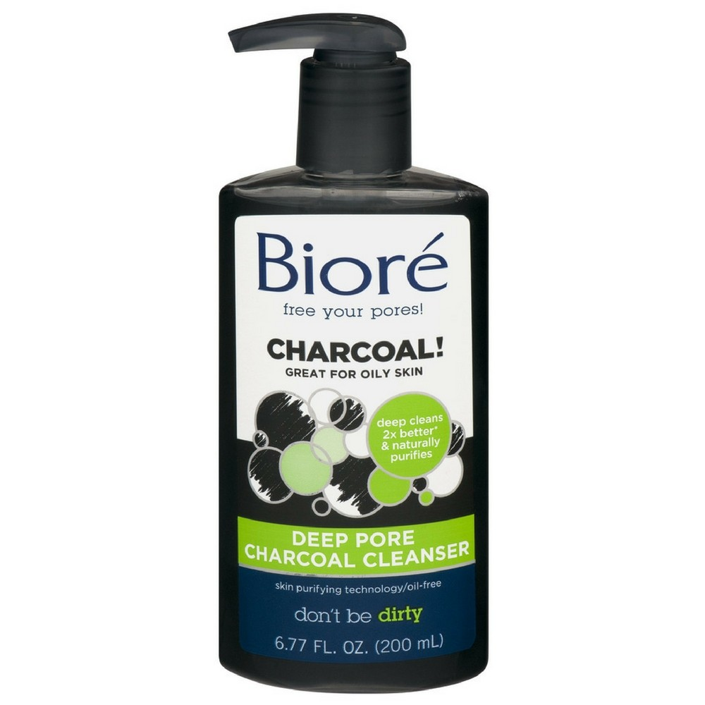 Biore Deep Pore Charcoal Cleanser 6.77 Oz