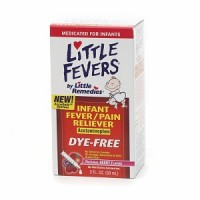 Little Fevers Infant Fever/Pain Reliever Liquid Dye-Free Natural Berry Flavor 2 oz [756184101766]