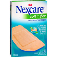 Nexcare Soft 'n Flex Bandages 8 Each [051135813867]