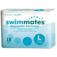 Swimmates Disposable Swim Diapers, Large, 18 ea [070319028460]