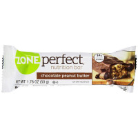 ZonePerfect Nutrition Bar, 1.76 oz bars, Chocolate Peanut Butter 12 ea [638102201010]