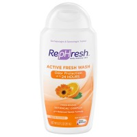 Rephresh Active Fresh Wash Freshening Botanical Complex, Lightly Scented 8.50 oz [022600000976]