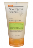 Neutrogena Naturals Acne Foaming Scrub 4.2 oz [070501025246]