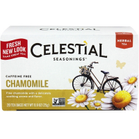 Celestial Seasonings Caffeine Free Chamomile Natural Herbal Tea 20 ea [070734000102]
