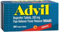 Advil 200 mg Coated Tablets 200 Tablets [305730154758]