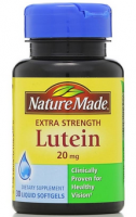 Nature Made Extra Strength Lutein 20 mg Softgels 30 ea [031604010690]