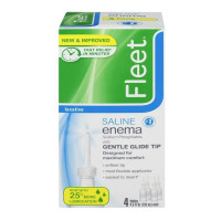Fleet Saline Enema, 4 Pack 18 oz [301320201451]