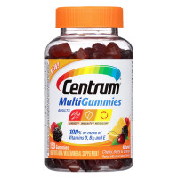 Centrum Adults MultiGummies Multivitamins, Natural Berry, Cherry & Orange 150 ea [300054860903]