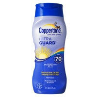 Coppertone UltraGuard Sunscreen Lotion SPF 70+ 8 oz [041100002242]