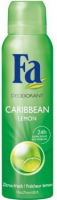 FA Deodorant Spray, Caribbean Lemon 5 oz [4015000520010]
