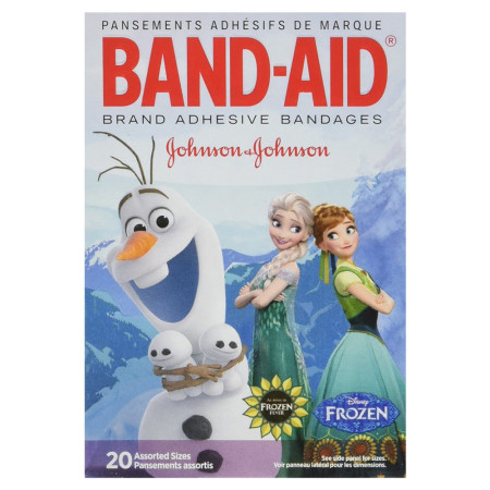 Band-Aid Adhesive Bandages Disney's Frozen, Assorted Sizes, 20 ea [381371163175]