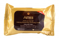 Ambi Even & Clear Make-up Removing Cloths, 30 Count [301875484019]