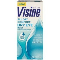 Visine Tears Long Lasting Dry Eye Relief Lubricant Eye Drops 1/2 FL oz [342002207057]