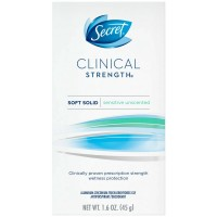Secret Clinical Strength Advanced Solid Antiperspirant & Deodorant, Sensitive Skin 1.60 oz [037000174233]