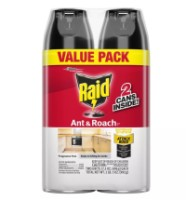 Raid Ant & Roach Killer, Value Pack, 17.50 oz per Can, Fragrance Free 2 ea [046500746789]