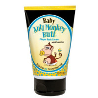 Anti-Monkey Butt Diaper Rash Cream 3 oz [889476818032]