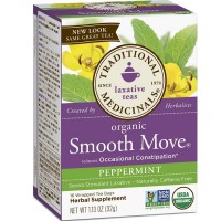 Traditional Medicinals Organic Smooth Move Tea, Peppermint 16 ea [032917002006]