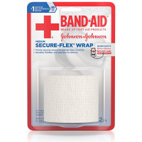 BAND-AID First Aid Secure-Flex Wrap, Medium 1 ea [381371161508]
