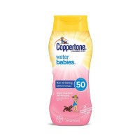 Coppertone Water Babies Non-Irritating Lotion with SPF 50, 8 oz  [041100572646]