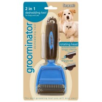 Sergeant's Groominator 2 in 1 Deshedding Tool for Dog & Cat 1 ea [073091072522]