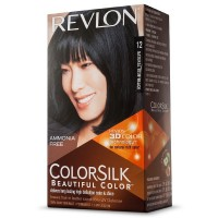 Revlon Colorsilk Beautiful Color, Natural Blue Black [12] 1 ea [309976623122]