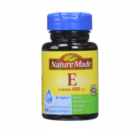 Nature Made dl-Alpha Vitamin E 400 IU Softgels 100 ea [031604011604]