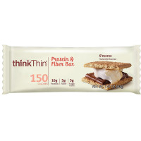 Think Thin Protein & Fiber, 1.41 oz bars, S'mores 10 ea [753656713038]