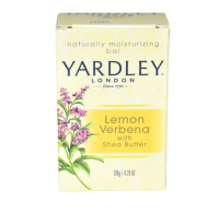 Yardley London Moisturizing Bar Lemon Verbena With Shea Butter 4.25 oz [041840828874]