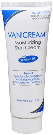 Vanicream Moisturizing Skin Cream for Sensitive Skin 4 oz [345334300045]