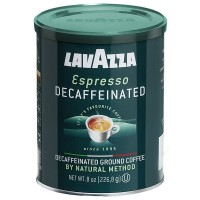 LavAzza Espresso Decaffeinated Ground Coffee 8 oz [041953011088]