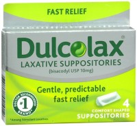 Dulcolax Suppositories 4 Each [681421021012]
